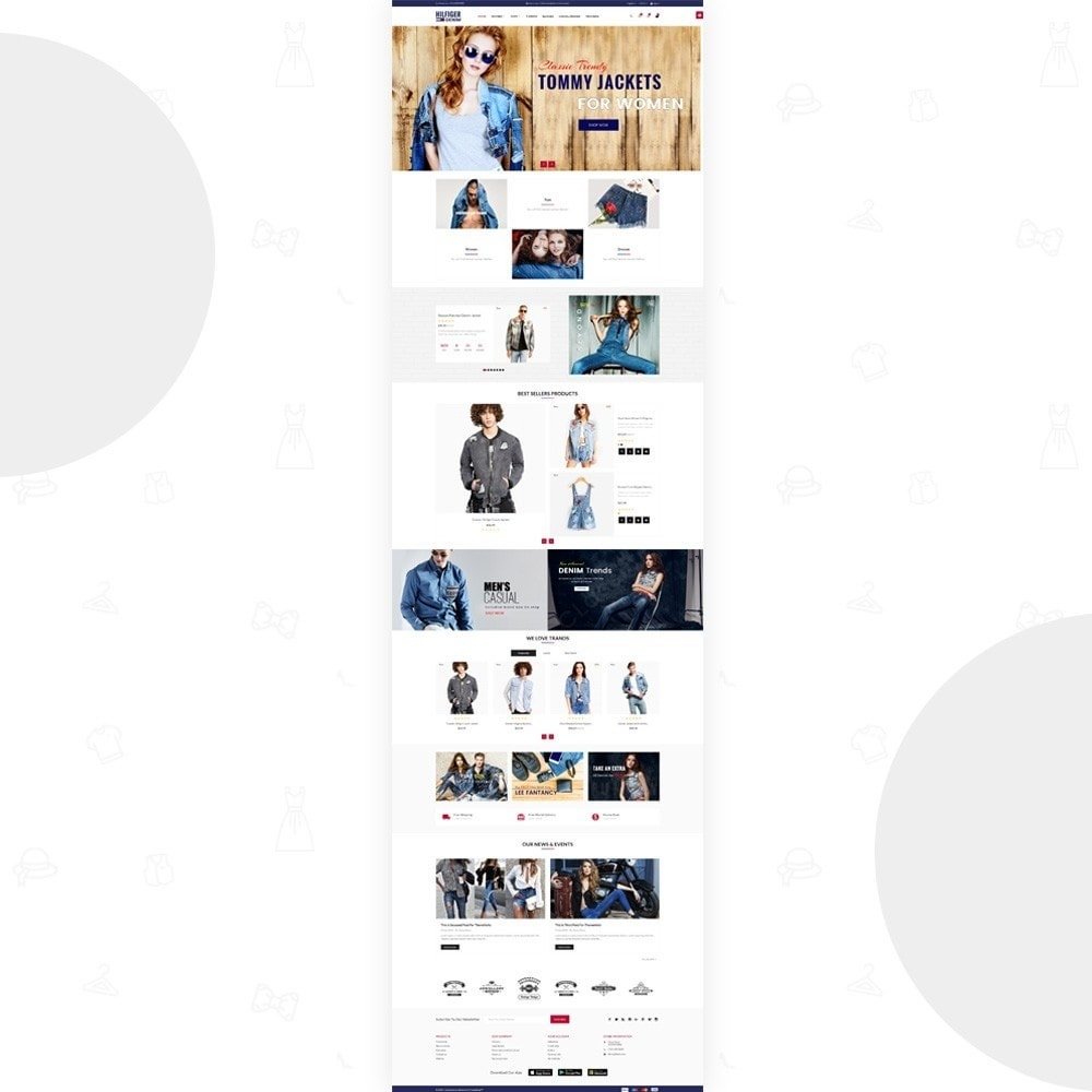 Hilfiger Denim – Fashion/Cloth/Brand Super Store