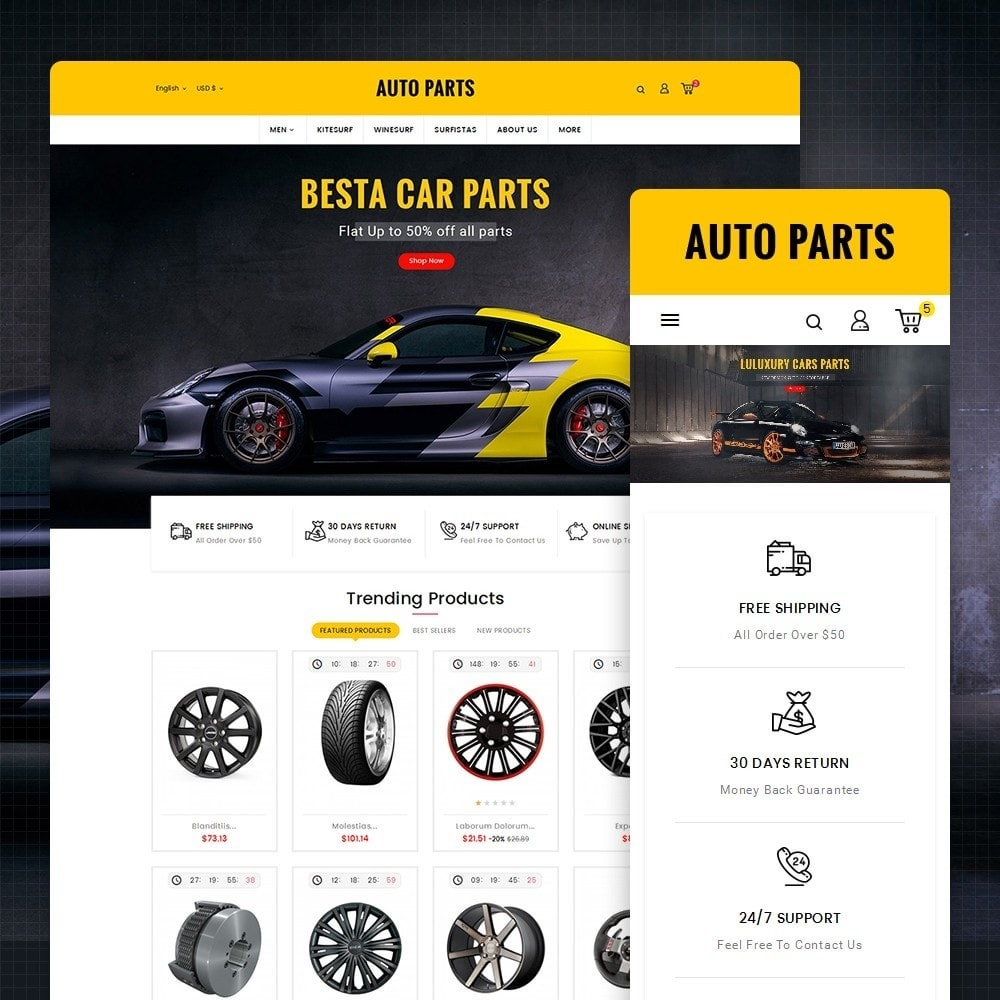 theme - Auto's & Motoren - Auto Equipment & Parts - 1