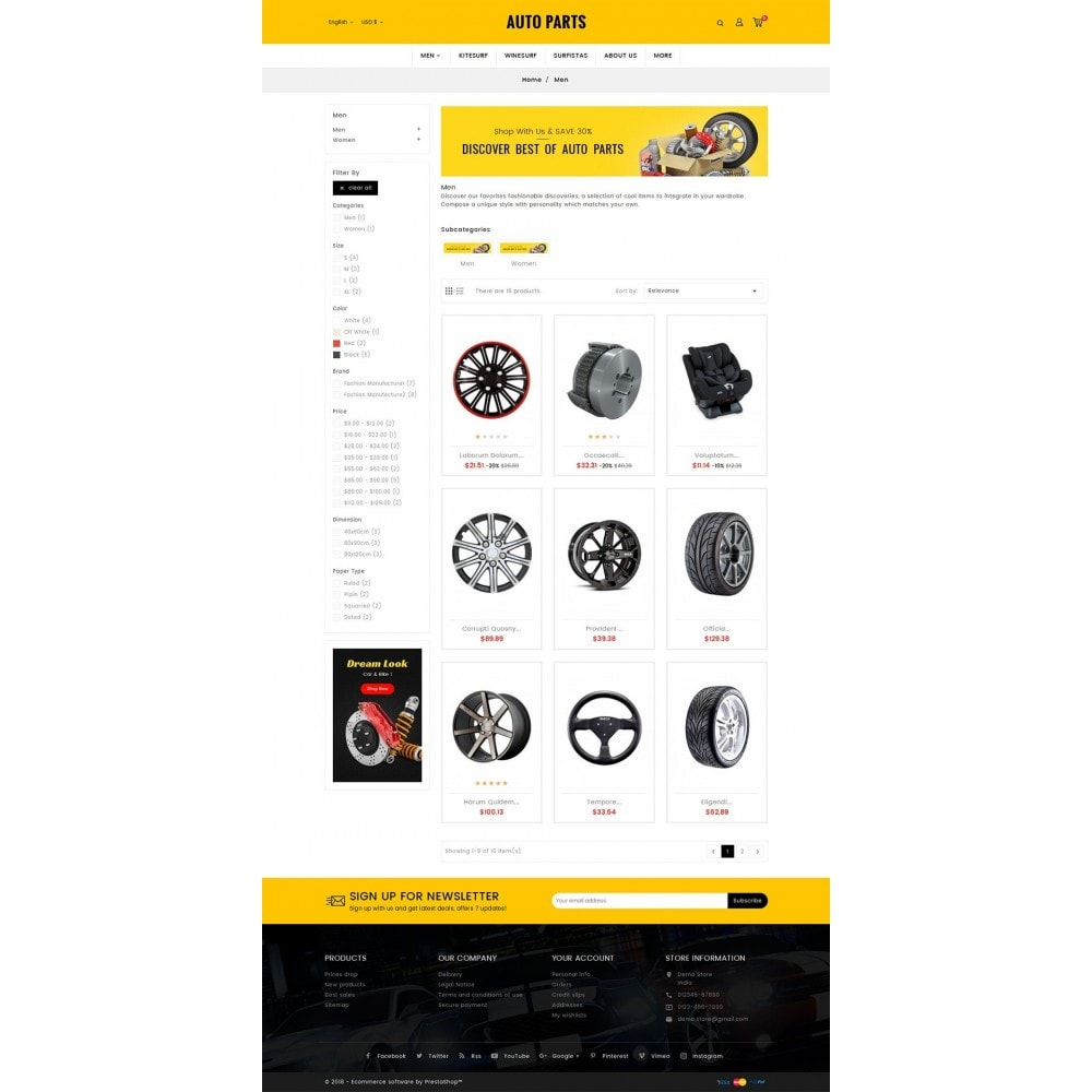 theme - Auto's & Motoren - Auto Equipment & Parts - 3