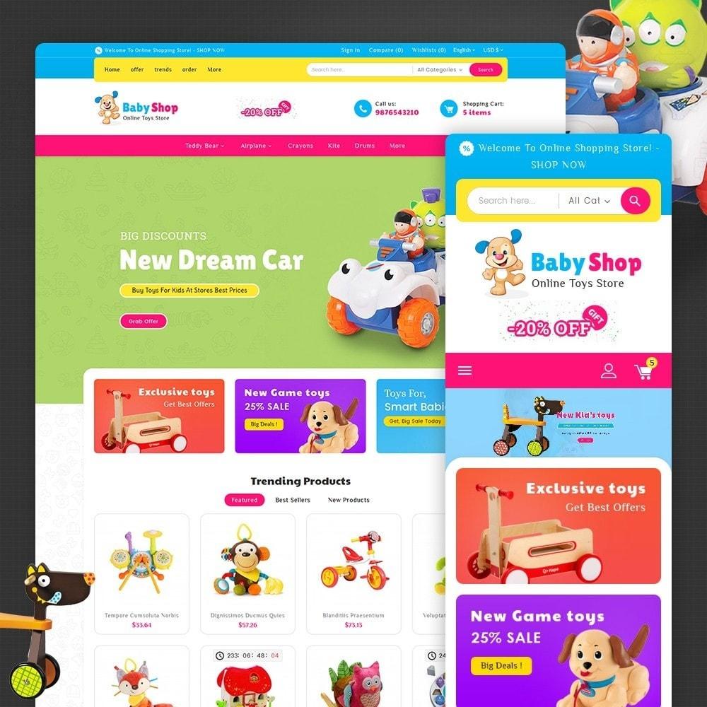 theme - Kids & Toys - Baby Toys - 1