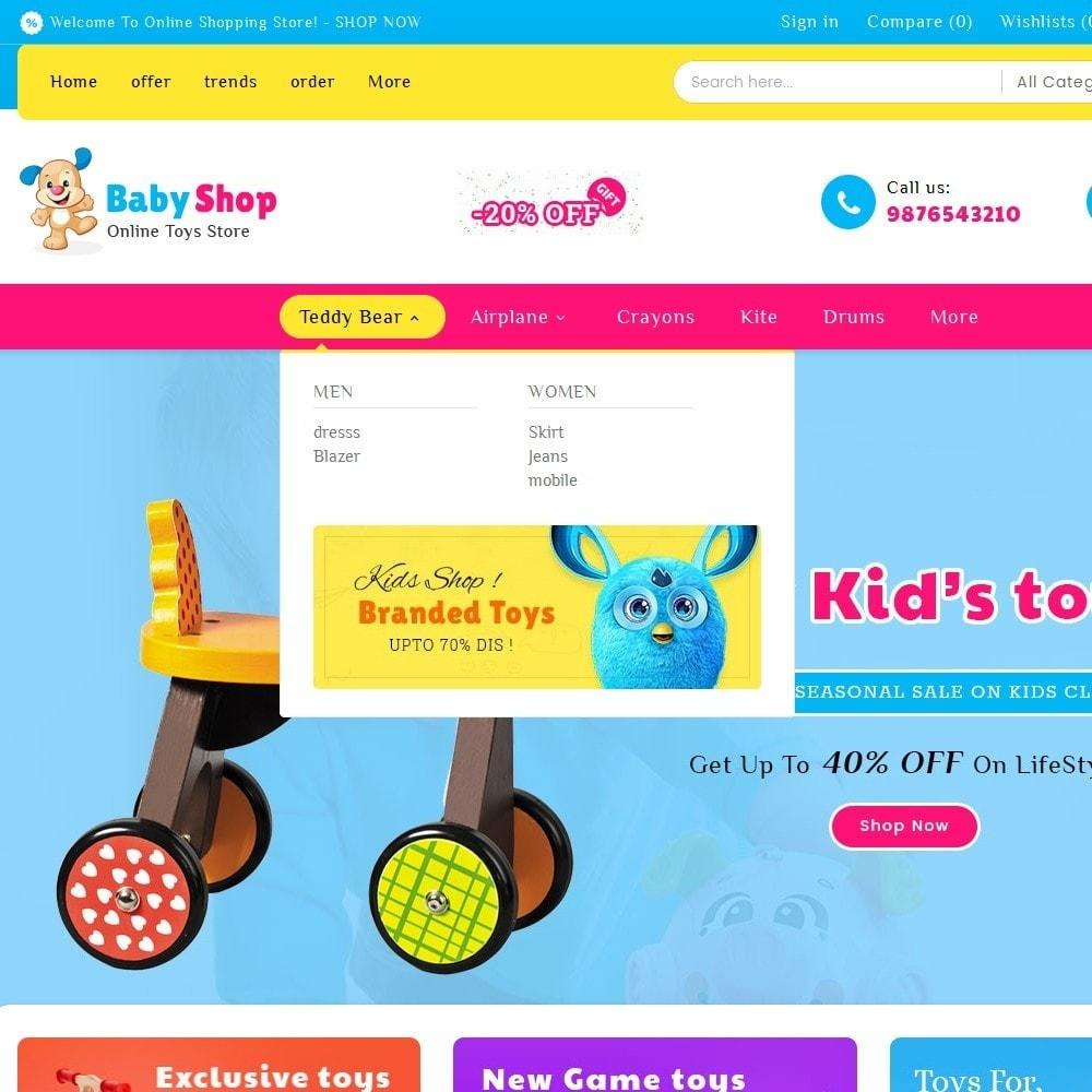 theme - Kids & Toys - Baby Toys - 8