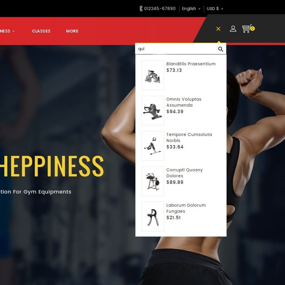theme - Sports, Activities & Travel - Fitness Equipment - 9
