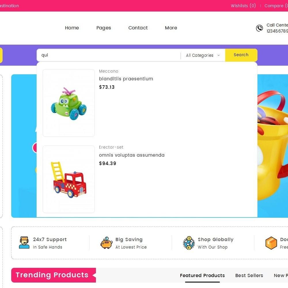 theme - Kids & Toys - Mega Cell Kid Toys - 9