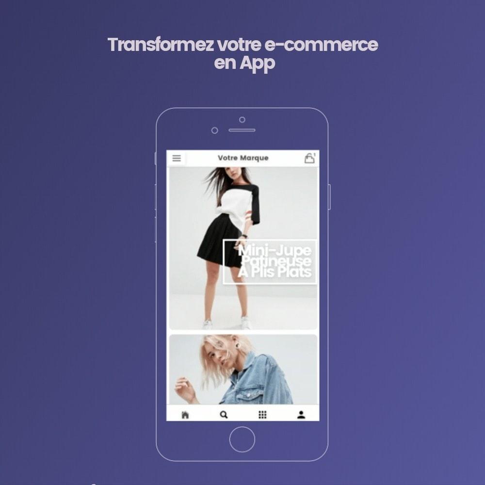 module - Mobile - Transformez votre e-commerce en Application mobile - 1