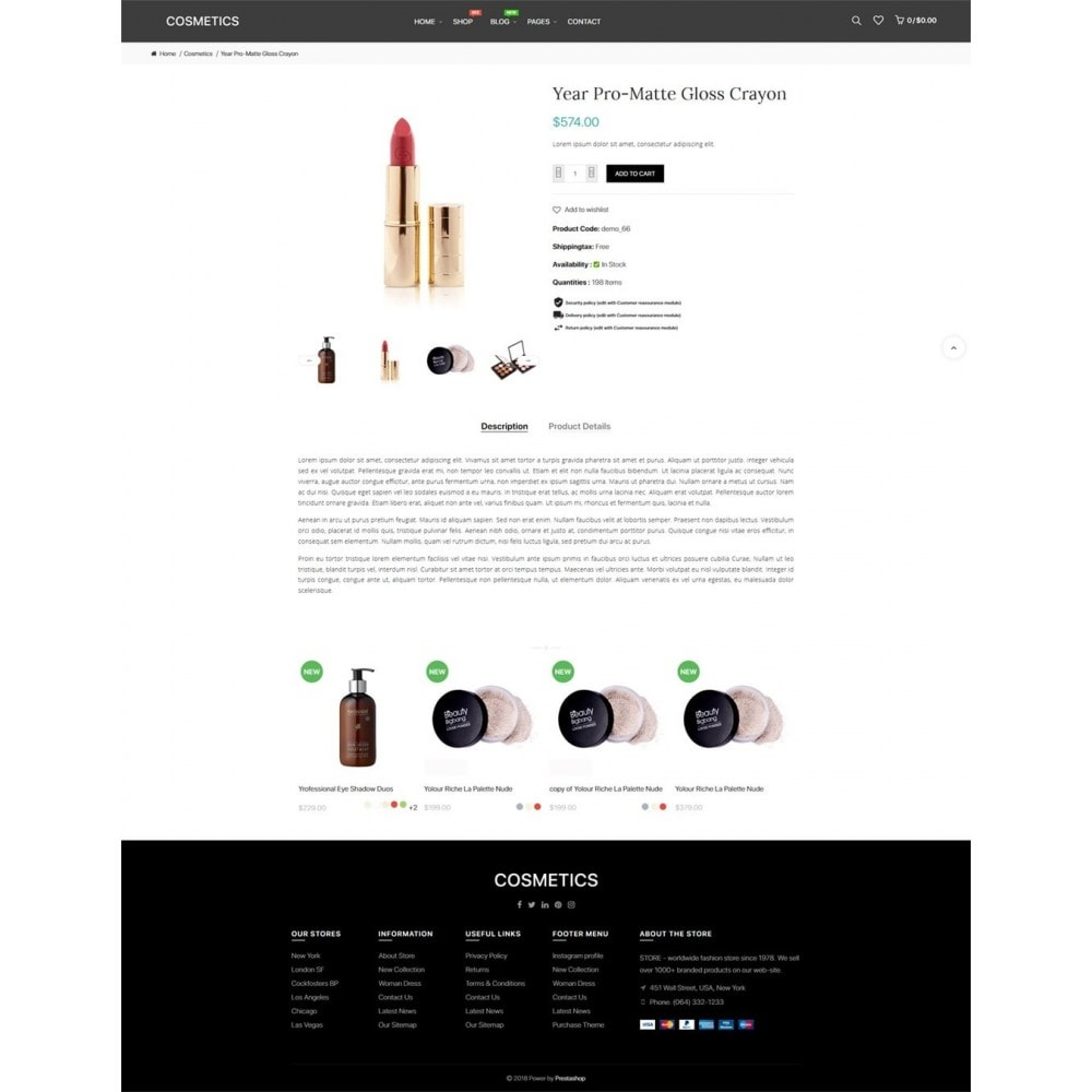 theme - Biżuteria & Akcesoria - JMS Cosmetics - 9