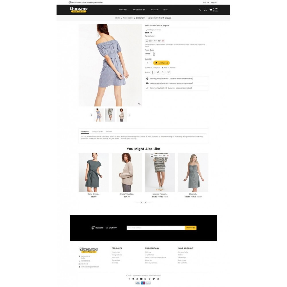 theme - Мода и обувь - Shopme Fashion Apparels - 5