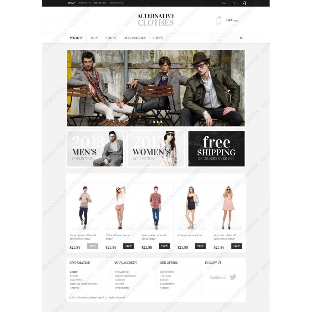 Alternative Clothes Store