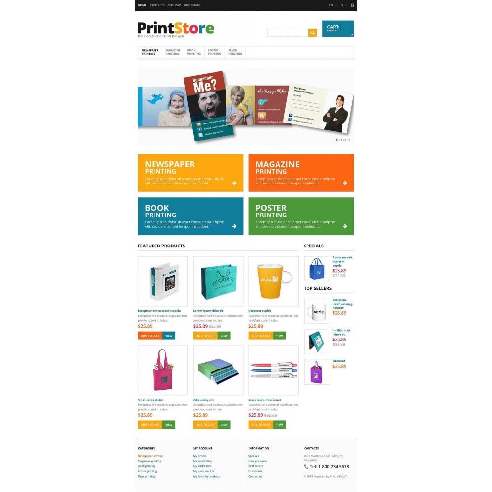 Responsive Print Store