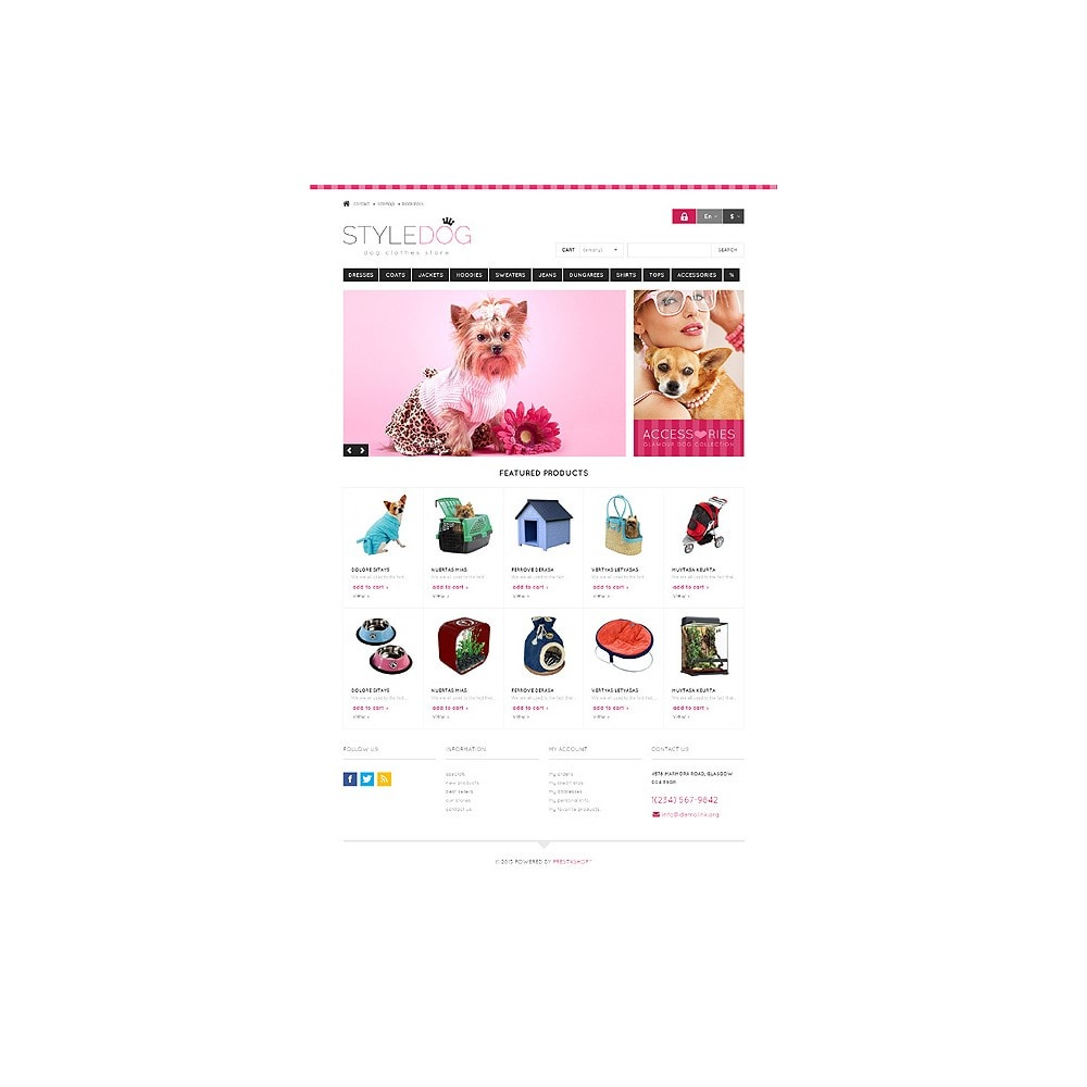 theme - Animaux - Responsive Dog Style Store - 10
