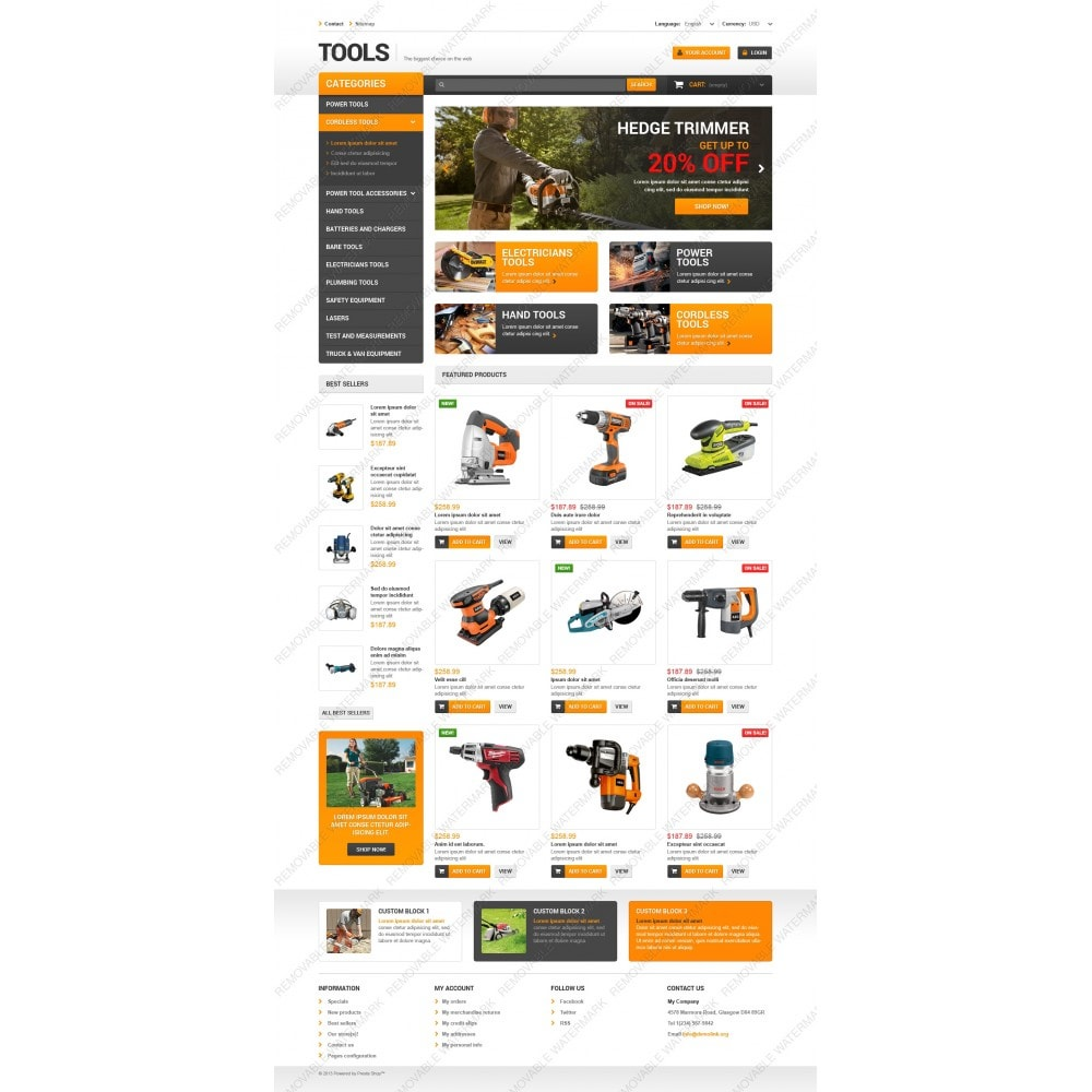 theme - Home & Garden - Quality Tools - 5