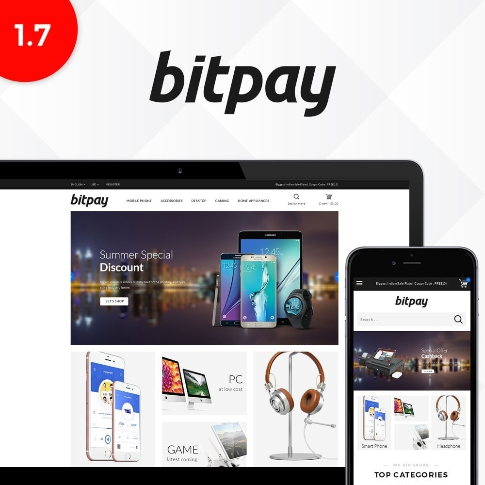 Bitpay Electronics Store