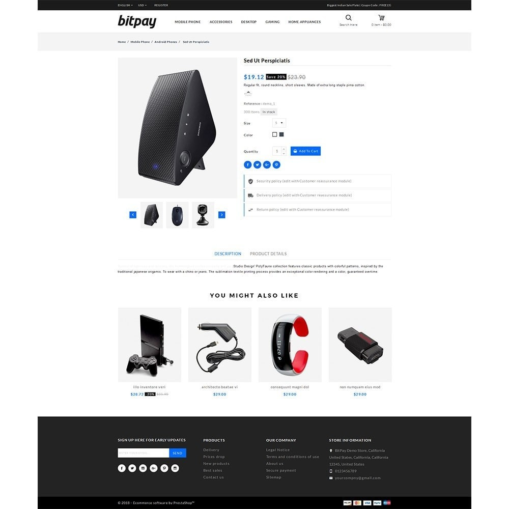 theme - Elektronika & High Tech - Bitpay Electronics Store - 5