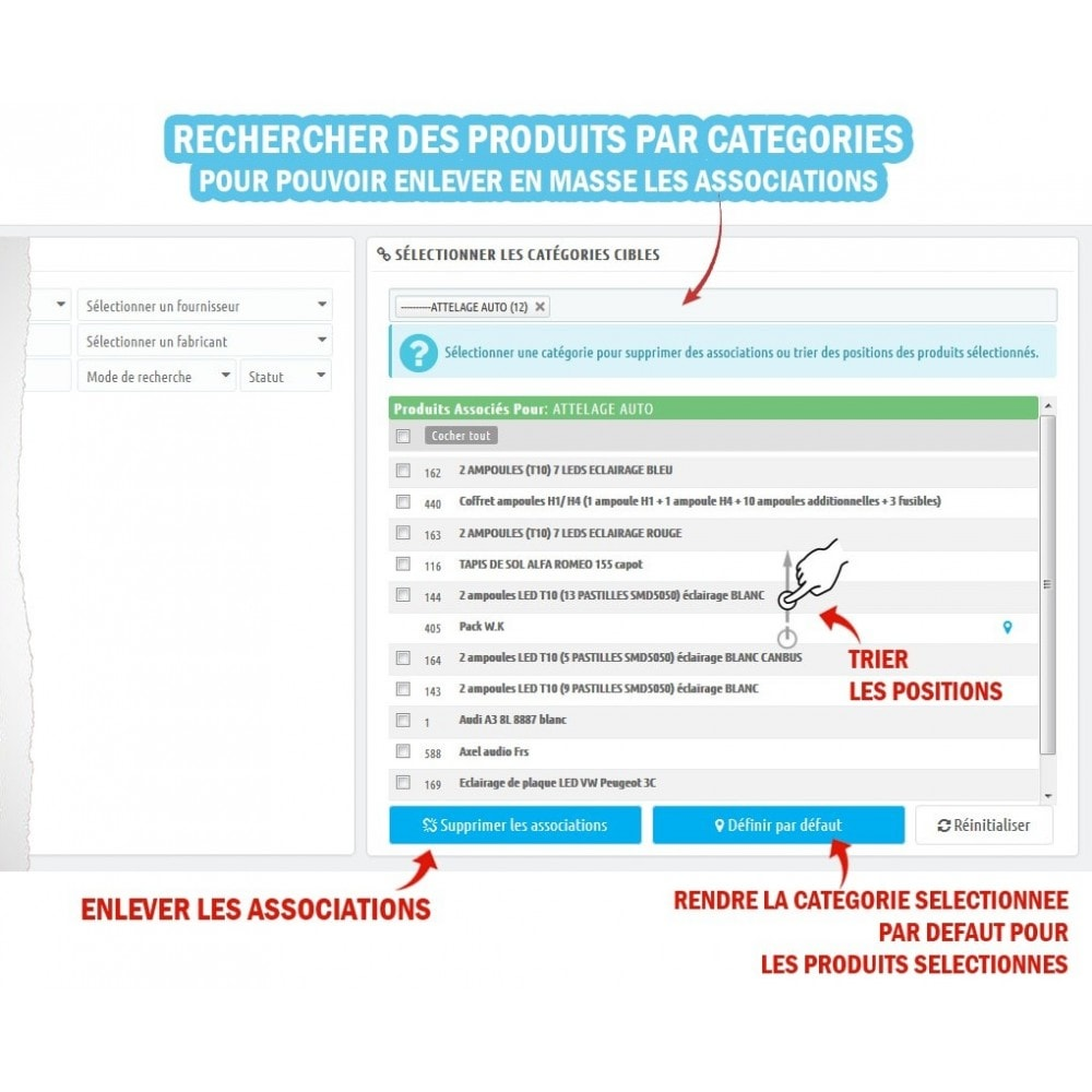 module - Edition rapide & Edition de masse - Wk Affectations de produits - 4