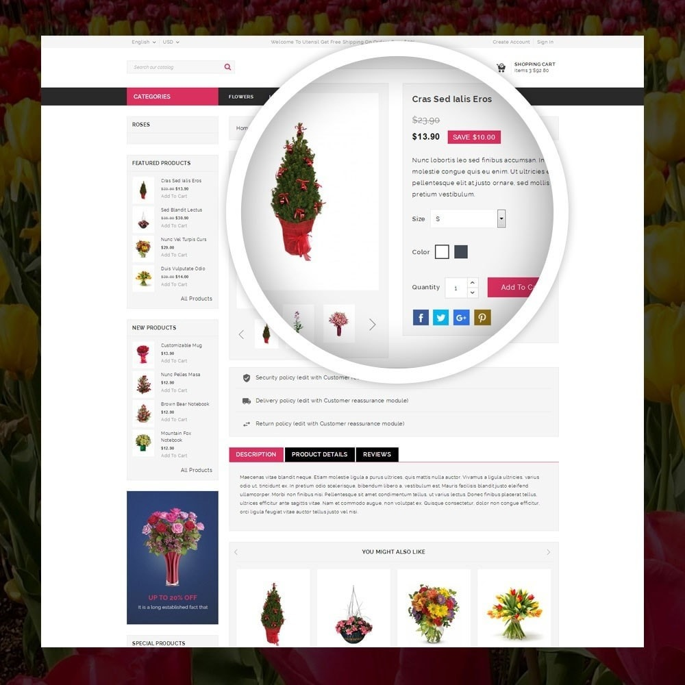 theme - Gifts, Flowers & Celebrations - Royal - Flower Store - 4