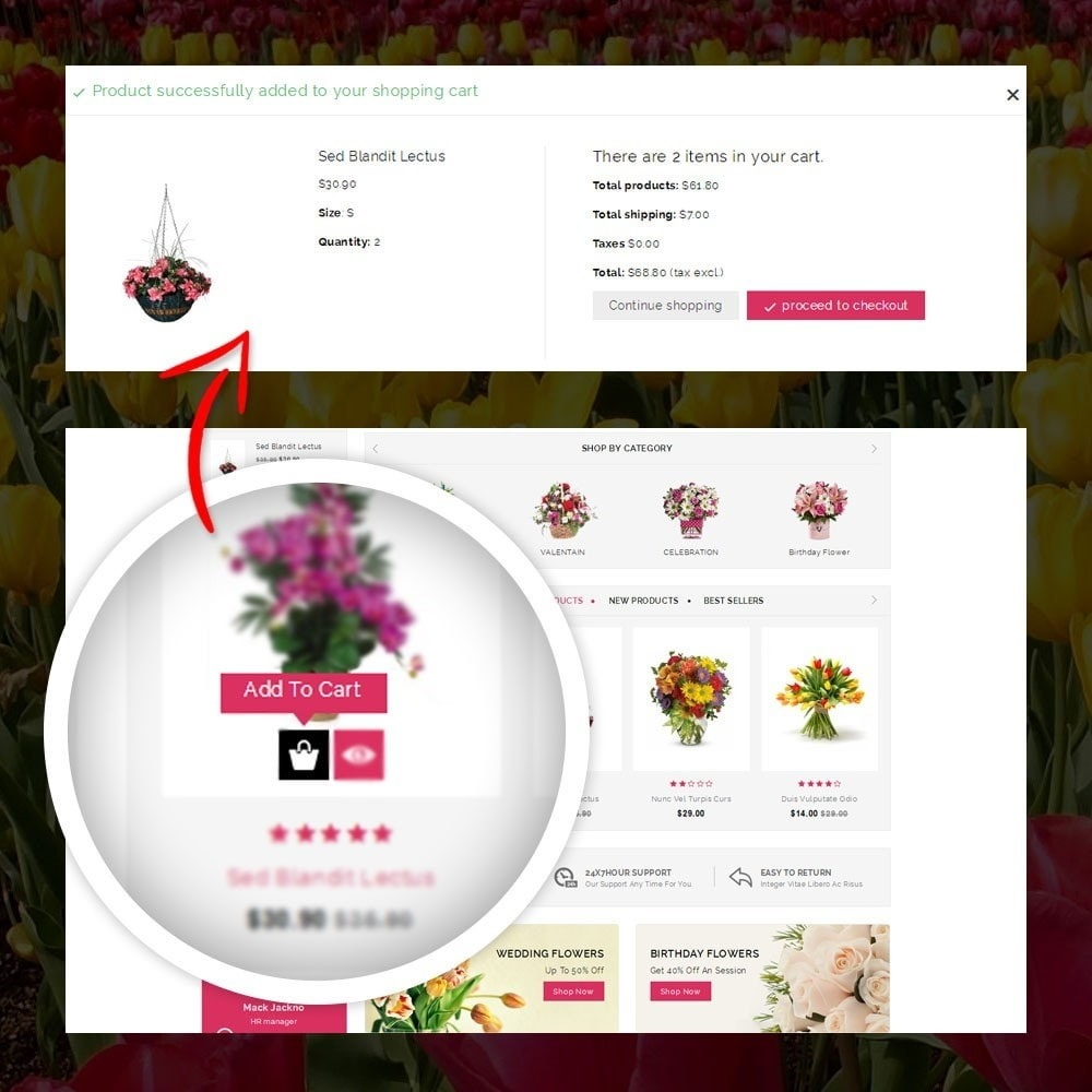 theme - Gifts, Flowers & Celebrations - Royal - Flower Store - 5