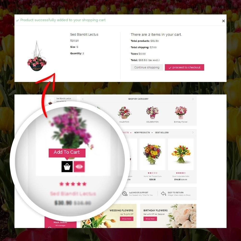 theme - Presentes, Flores & Comemorações - Royal - Flower Store - 5