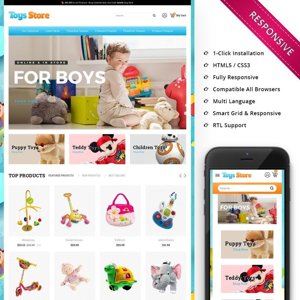 Toys Store - The Children Shop