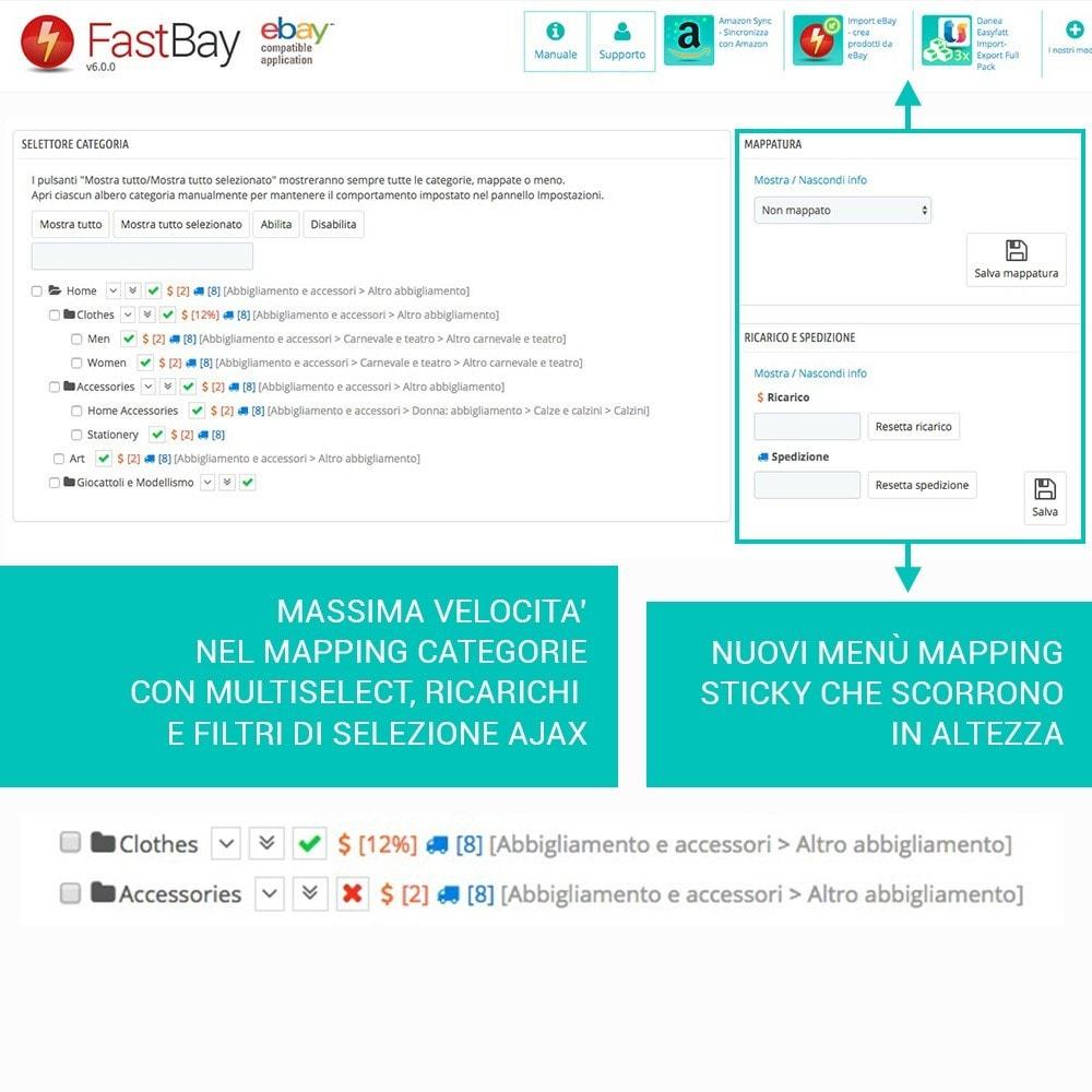 module - Marketplace - Fastbay - sincronizzazione con eBay Marketplace - 7