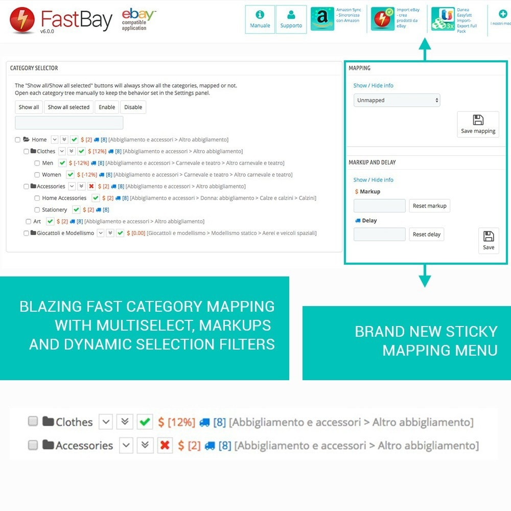 module - Revenda (marketplace) - FastBay - eBay Marketplace synchronization - 5