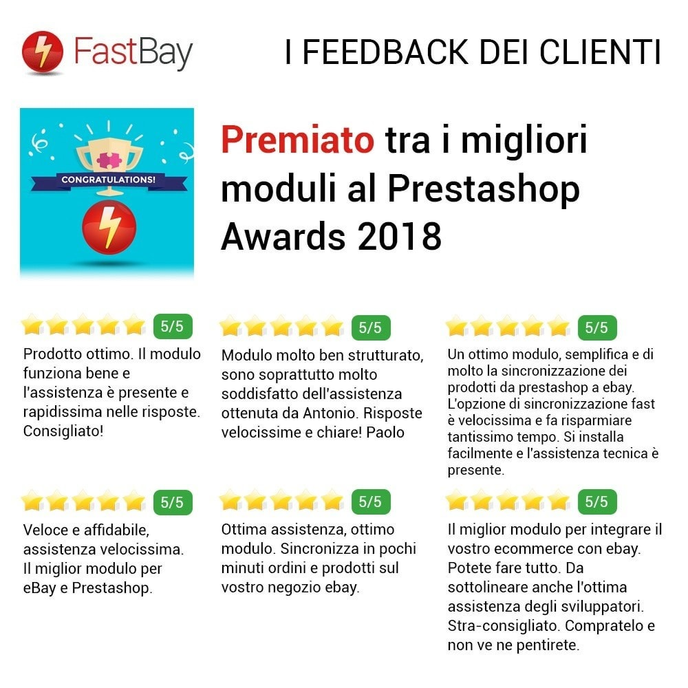 module - Marketplace - Fastbay - sincronizzazione con eBay Marketplace - 16