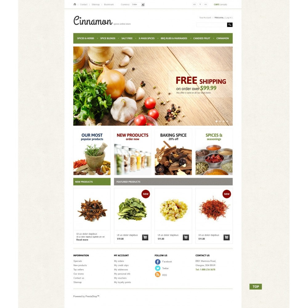 theme - Alimentation & Restauration - Spices & Herbs - 3
