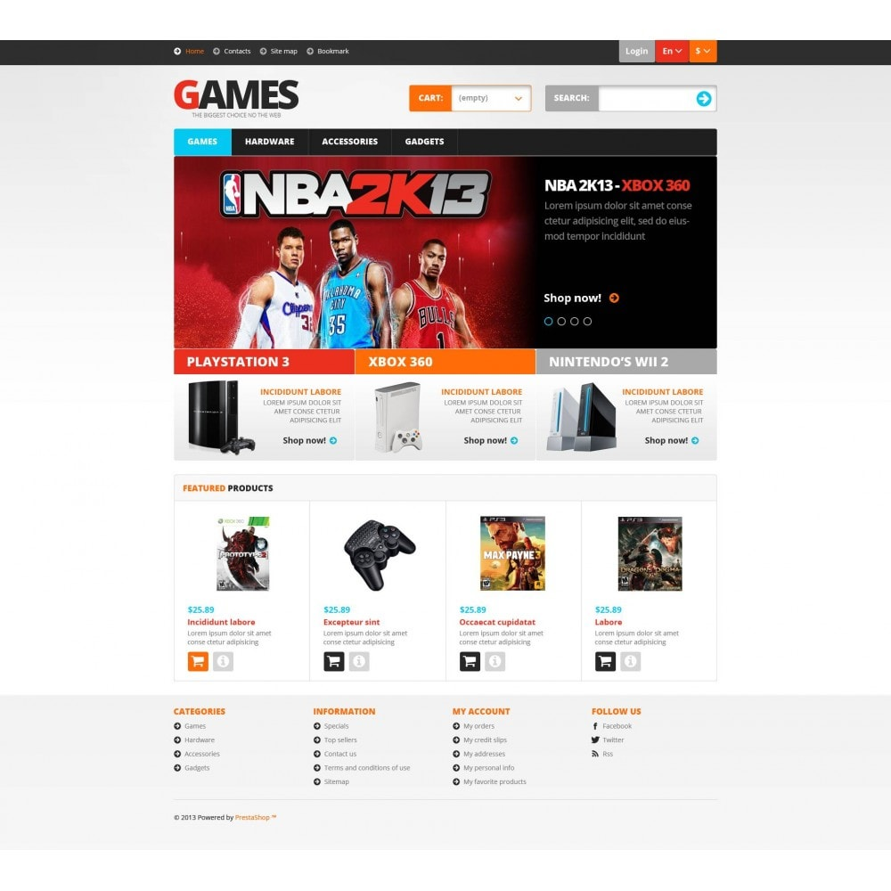 theme - Kinder & Spielzeug - Responsive Games Store - 2