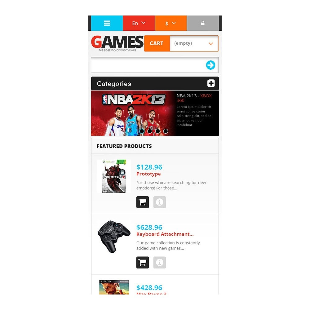 theme - Kinder & Spielzeug - Responsive Games Store - 4