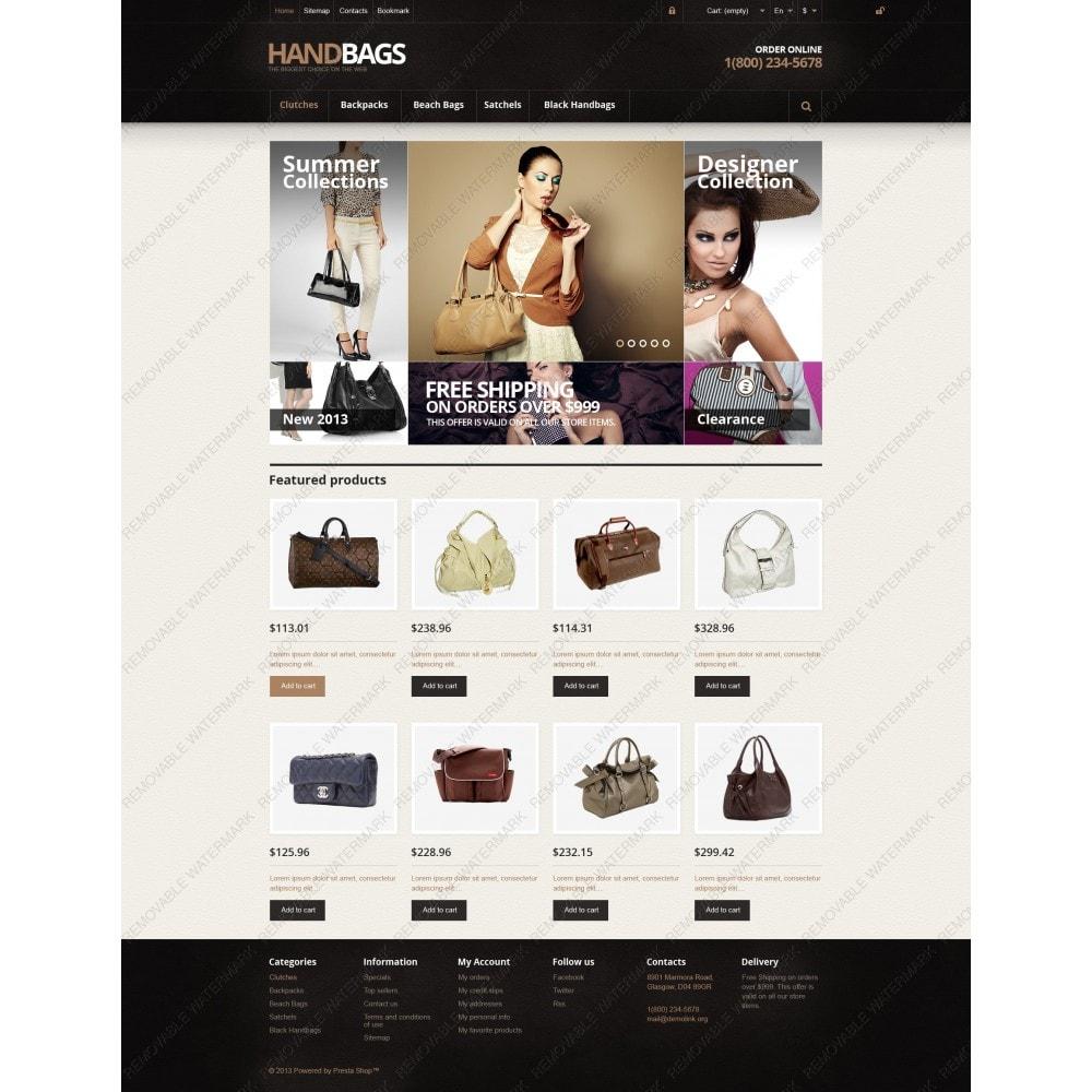 Responsive Handbags Store