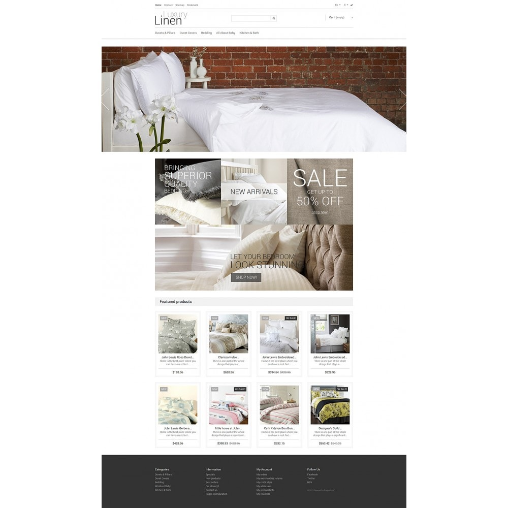 theme - Art & Culture - Luxury Linen Store - 2