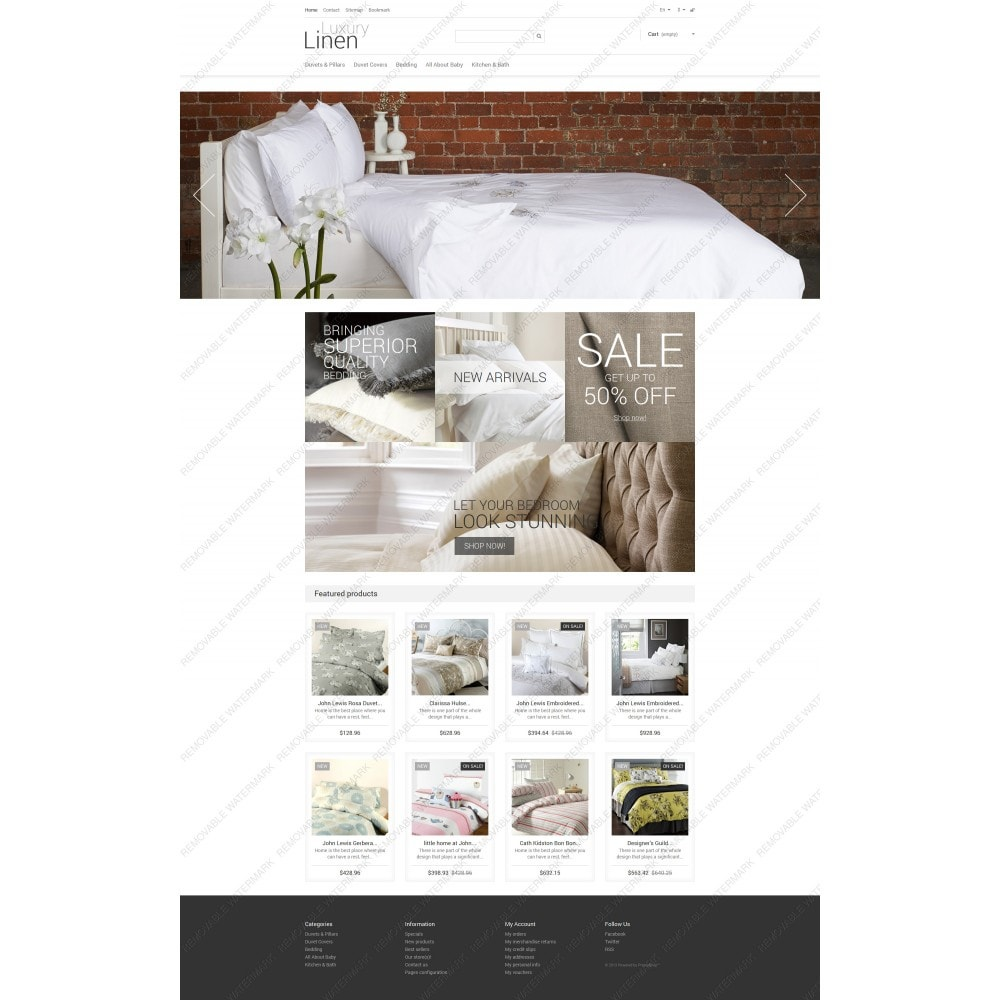 theme - Art & Culture - Luxury Linen Store - 5
