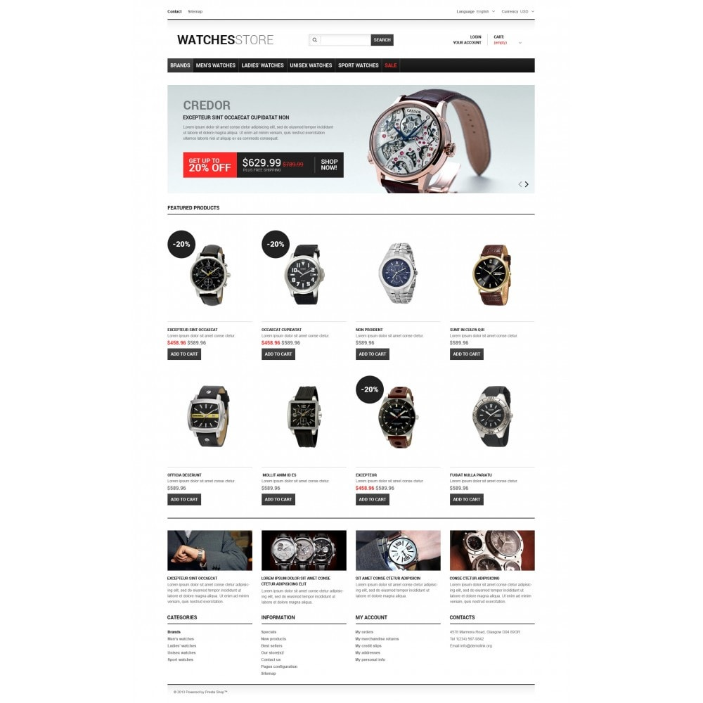 theme - Fashion & Shoes - Watches Shop - 5