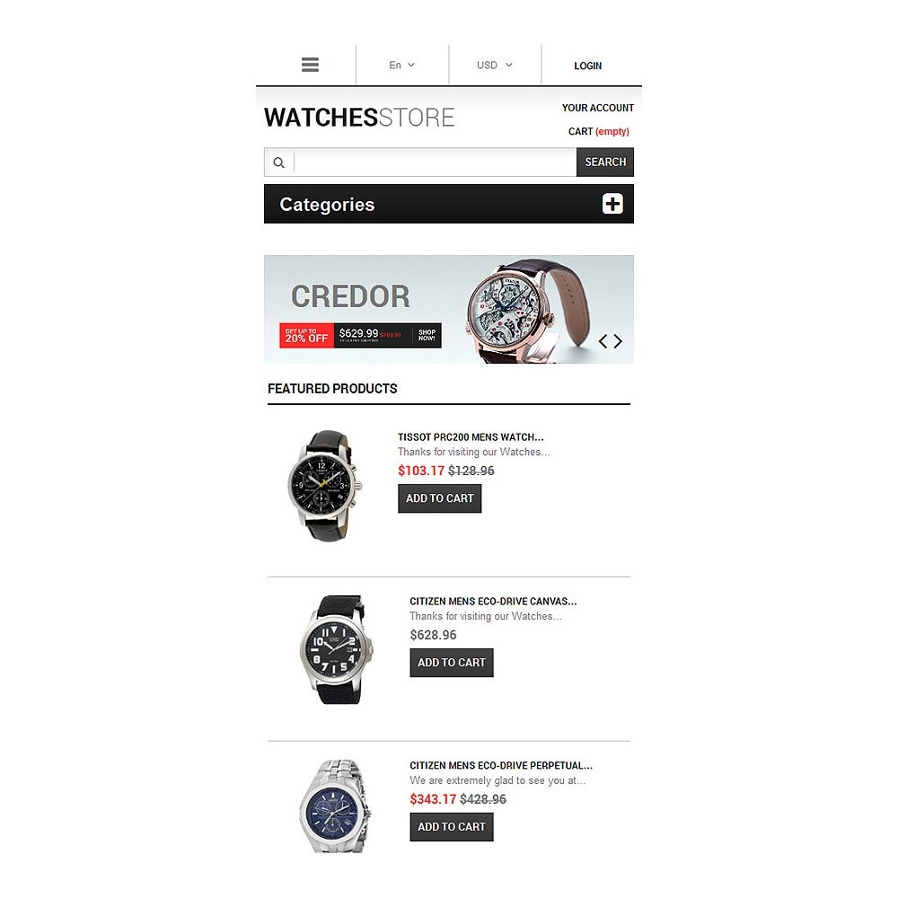 theme - Fashion & Shoes - Watches Shop - 8