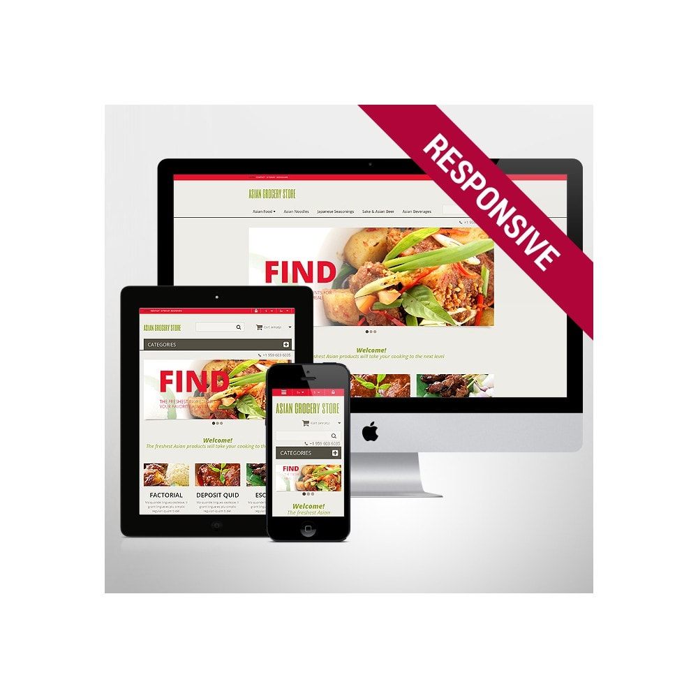 theme - Eten & Restaurant - Asian Grocery Store - 1