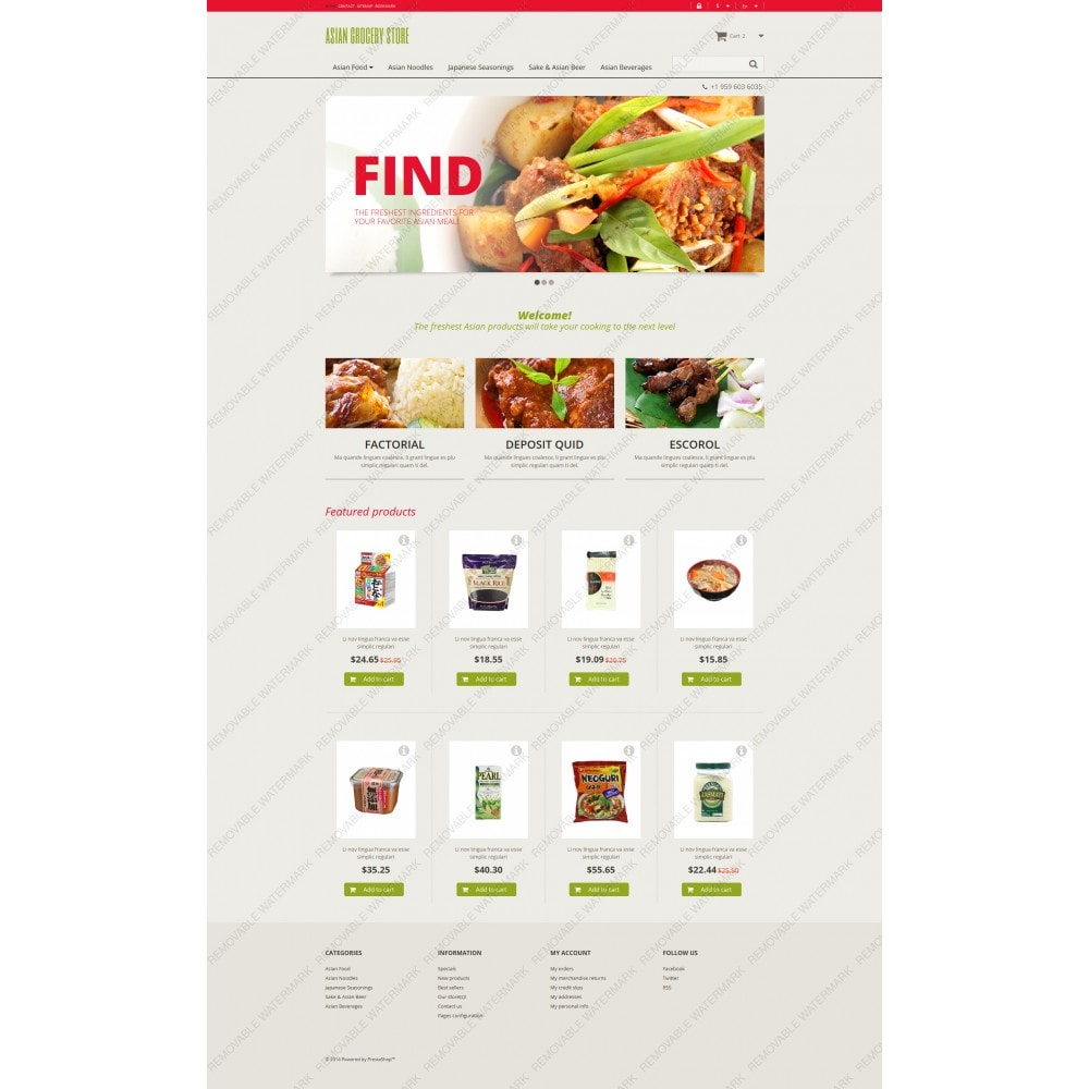 Asiatisches Lebensmittelgeschäft