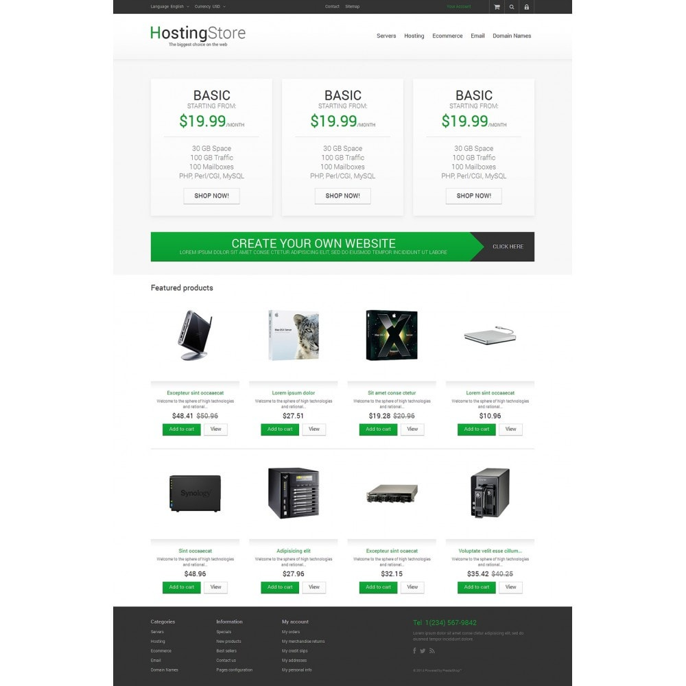 Your Hosting Store