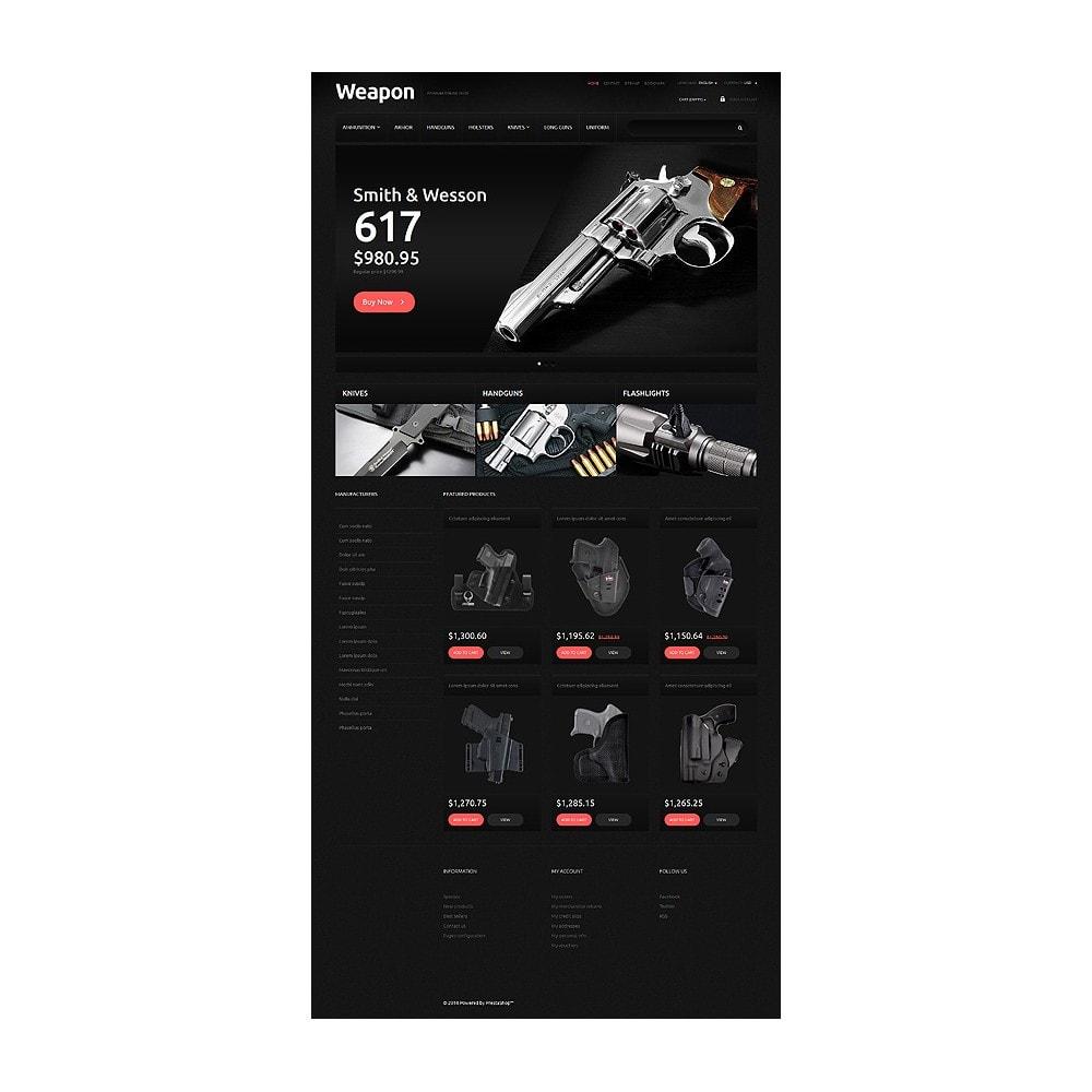 theme - PrestaShop Szablony - Weapons for SelfDefense - 1