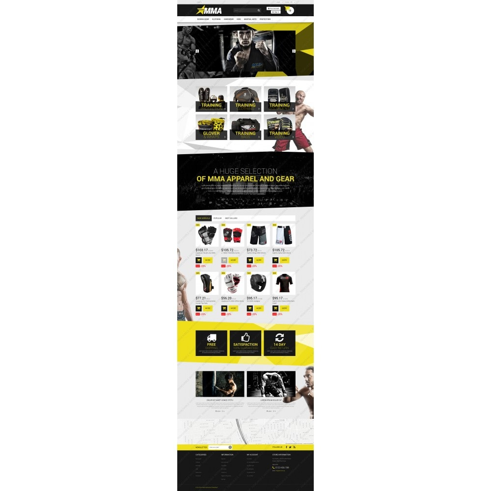 theme - Sports, Activities & Travel - MMA Store - 3
