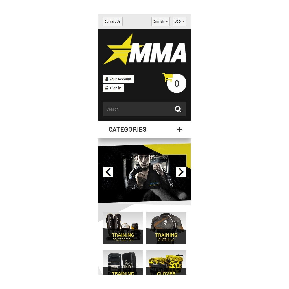 theme - Sports, Activities & Travel - MMA Store - 9
