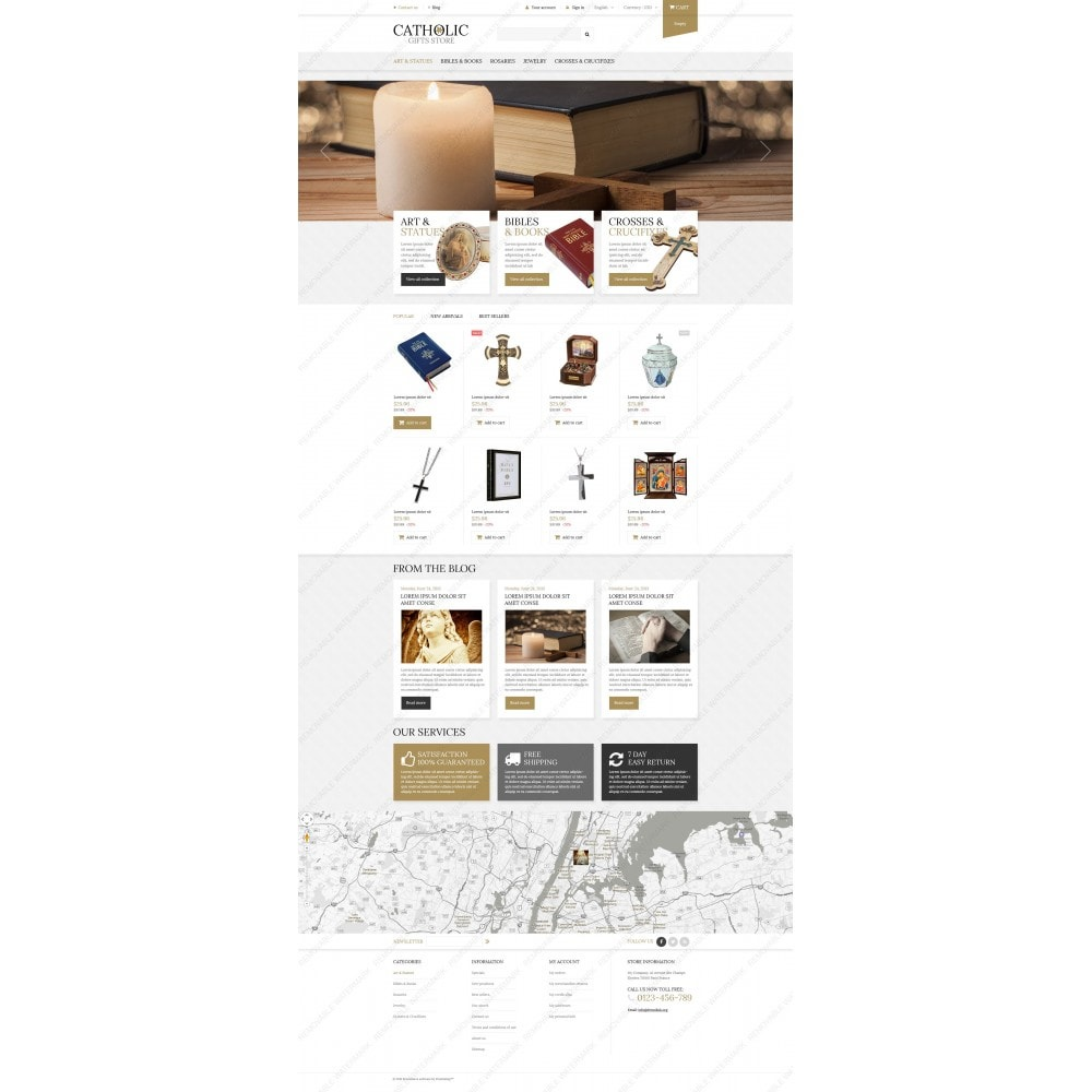 theme - PrestaShop thema's - Religious Items - 5