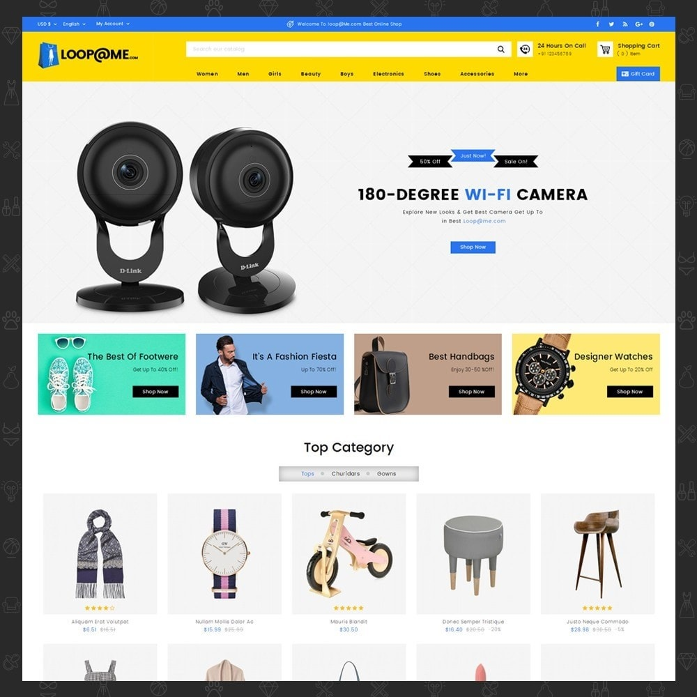Loopme Mega Store
