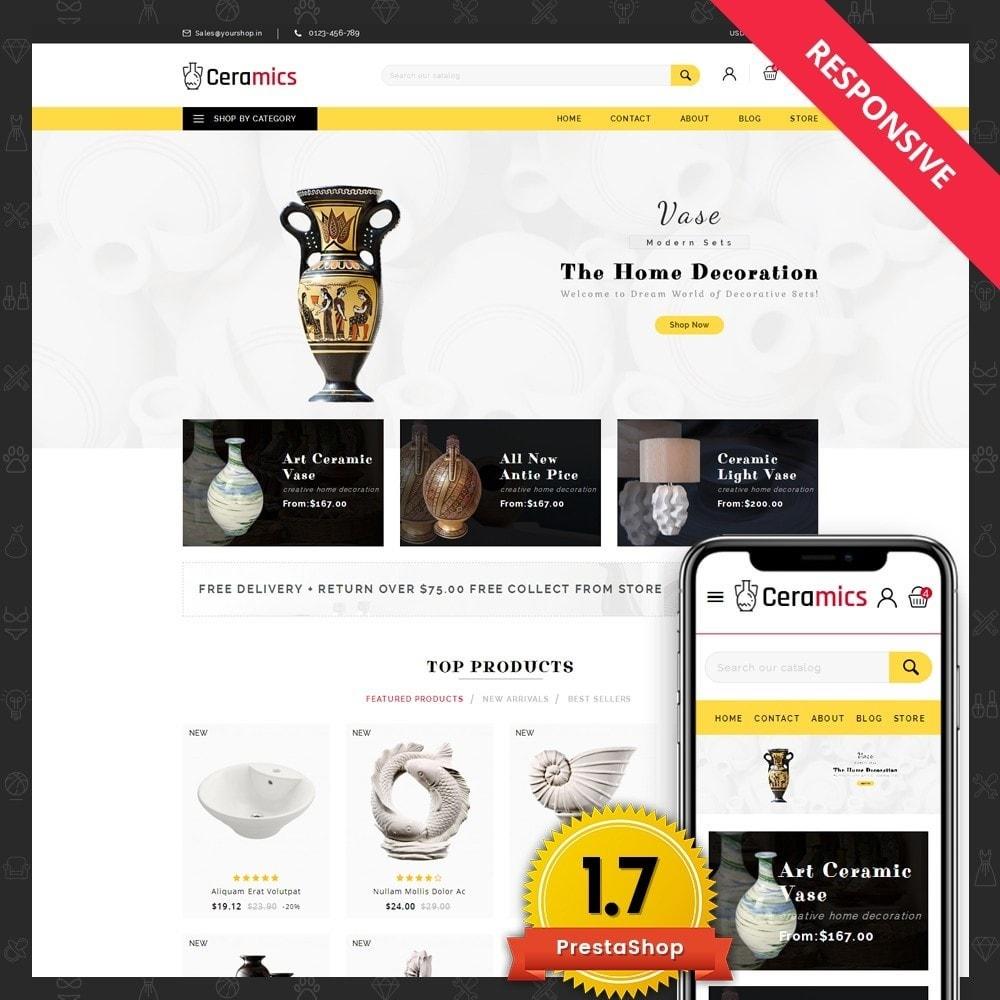 theme - Arte y Cultura - Ceramic Art Store - 1