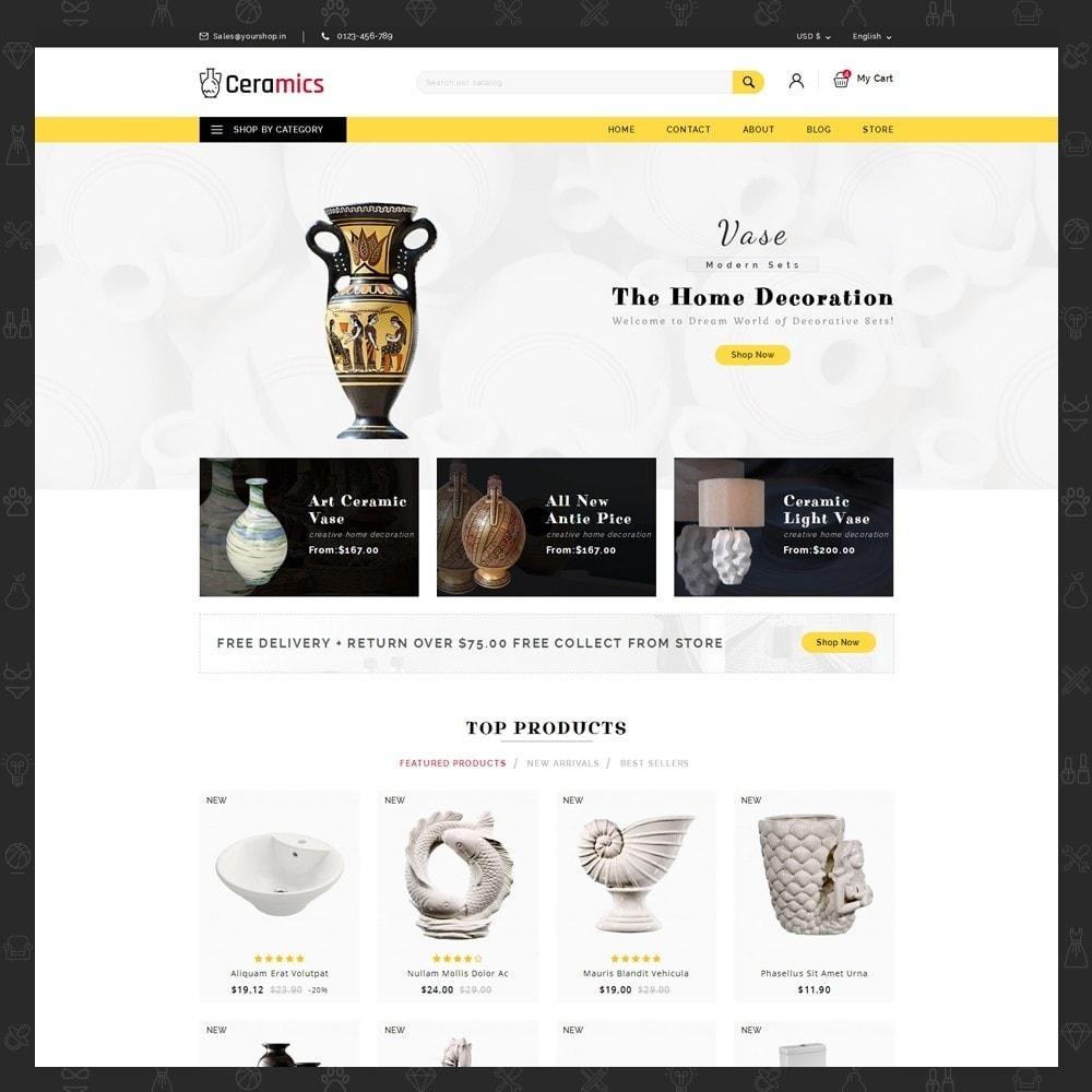 theme - Arte y Cultura - Ceramic Art Store - 2