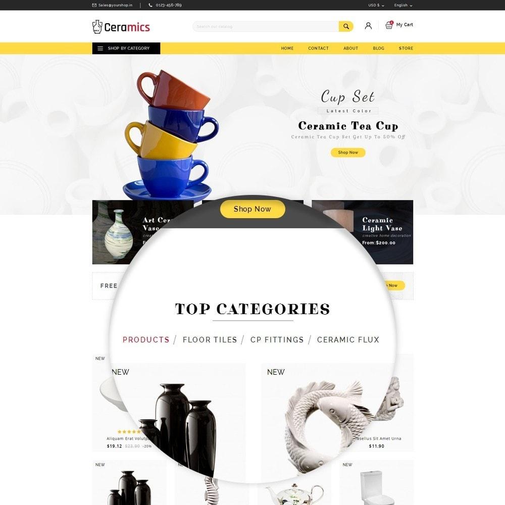 theme - Arte y Cultura - Ceramic Art Store - 8