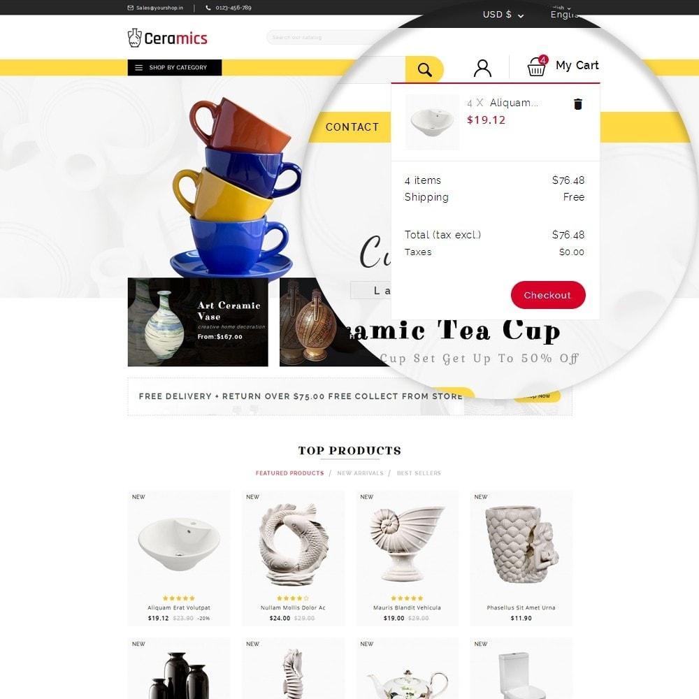 theme - Kultura & Sztuka - Ceramic Art Store - 10