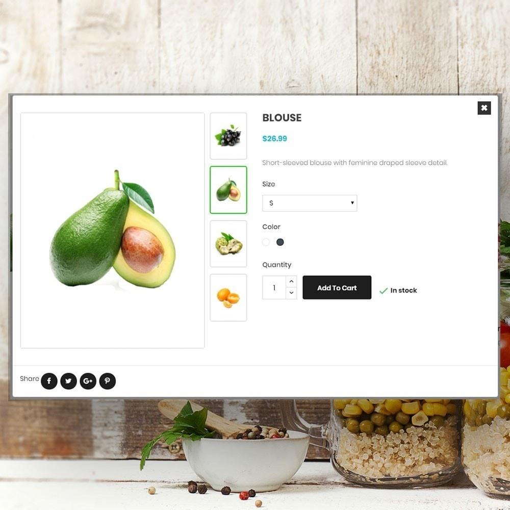 theme - Cibo & Ristorazione - Organic vegetable store - 7