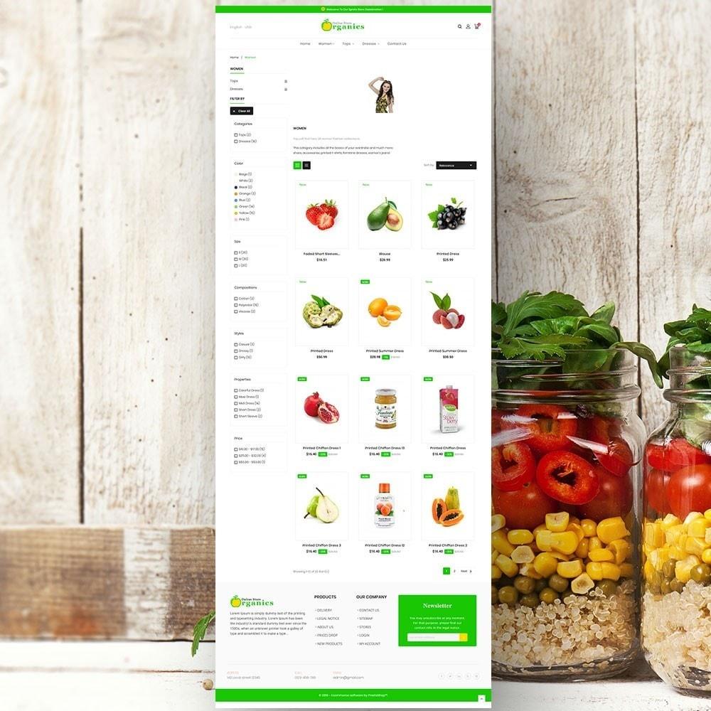 theme - Eten & Restaurant - Organic vegetable store - 4
