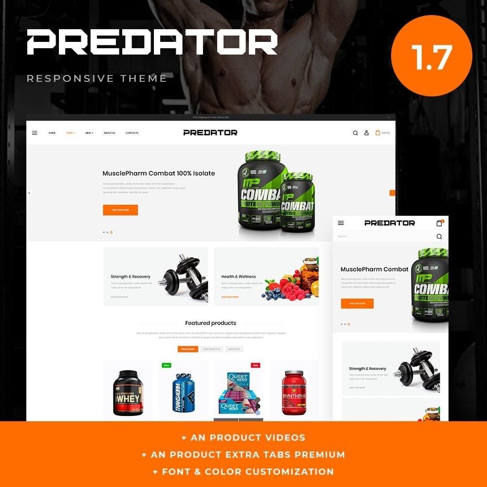 theme - Sport, Rozrywka & Podróże - Predator Shop - 1