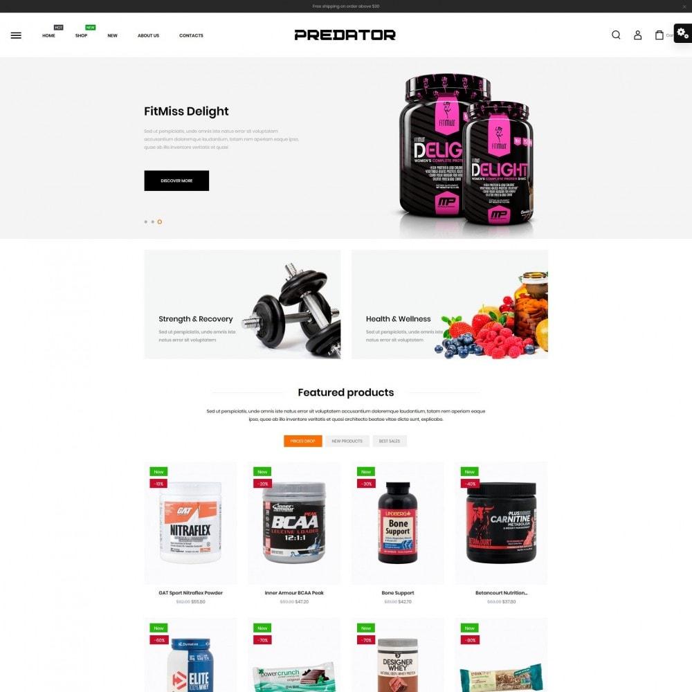 theme - Sport, Activiteiten & Reizen - Predator Shop - 2
