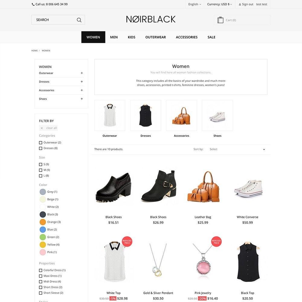 theme - Mode & Chaussures - Noirblack - 4