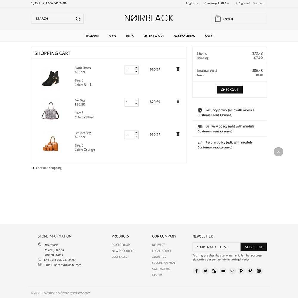 theme - Mode & Chaussures - Noirblack - 5
